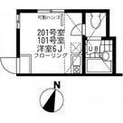 ユナイト鶴見ラ・マルシエール / 101 部屋画像1
