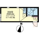 ユナイトステージ鹿島田ライフテリア / 109 部屋画像1