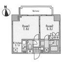 R7(ROPPONGI SEVEN) / 701 部屋画像1