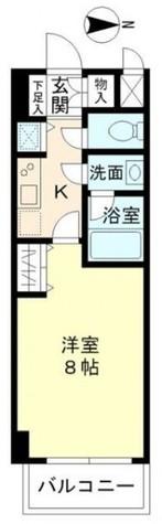 北品川アパートメント / 506 部屋画像1