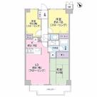 クリフサイド中川 / 302 部屋画像1