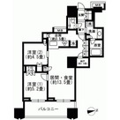 富久クロスコンフォートタワー / 2713 部屋画像1