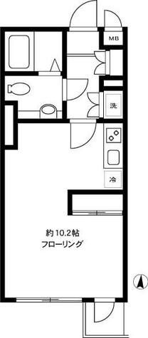 ルート四谷三丁目 / 211 部屋画像1