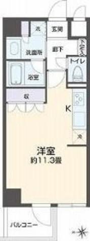リエトコート四谷 / 7F 部屋画像1