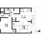 オオトリハイツ / 4f2 部屋画像1