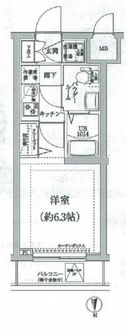 スパシエヒルズ横浜妙蓮寺 / 203 部屋画像1