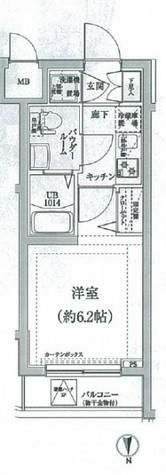 スパシエヒルズ横浜妙蓮寺 / 405 部屋画像1