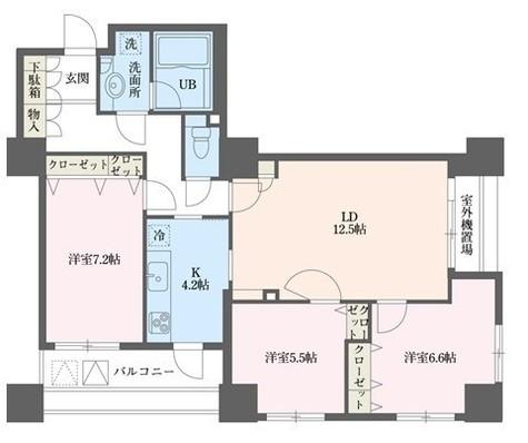 ドゥーエ横浜駅前(旧ステイシス横浜) / 2007 部屋画像1