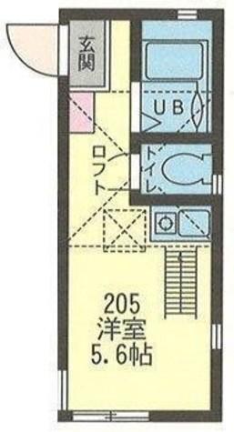 オランジュ・エール大島 / 205 部屋画像1