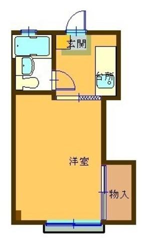 グリーン・ヴィレッジ / 103 部屋画像1