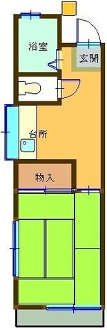 山口コーポ / 2 Floor 部屋画像1