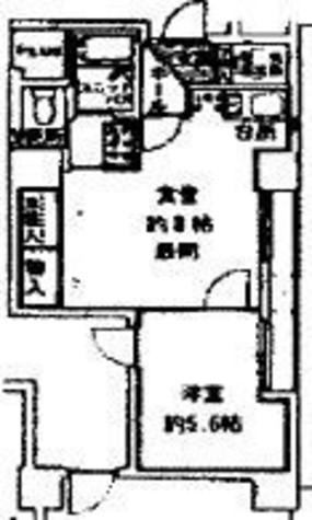 Daiwa芝浦ビル(ダイワ芝浦ビル) / 121f3 部屋画像1