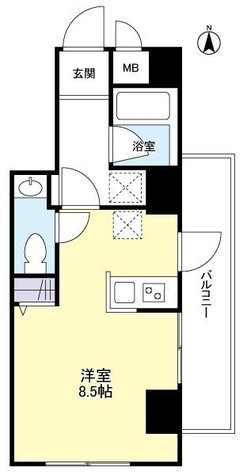 ステラ仙台坂 / 402 部屋画像1