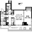 レジディア四谷三丁目 / 1006 部屋画像1