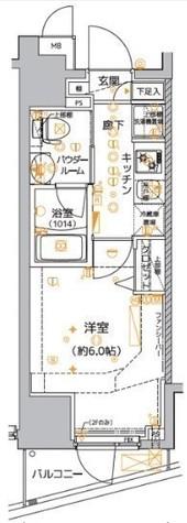 クレイシア品川東大井 / 1103 部屋画像1