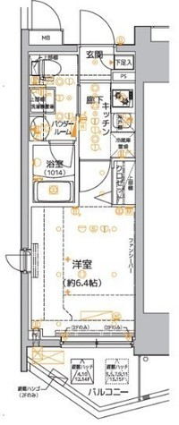 クレイシア品川東大井 / 1203 部屋画像1