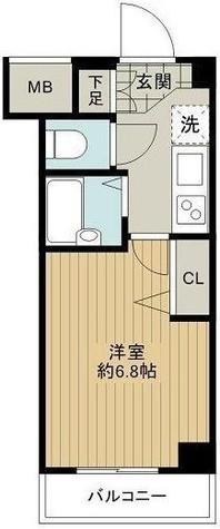エルフラット南品川 / 3階 部屋画像1