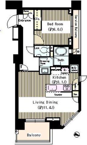 パークリュクス本郷 / 3階 部屋画像1