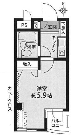 ガーデンコート26 / 1階 部屋画像1