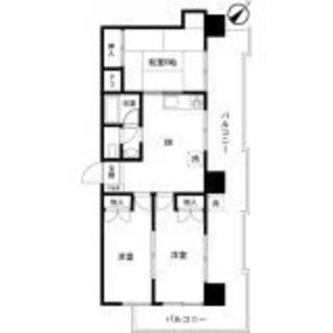 パラスト目黒三丁目 / 606 部屋画像1