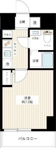 スパシエソリデ横浜鶴見 / 207 部屋画像1