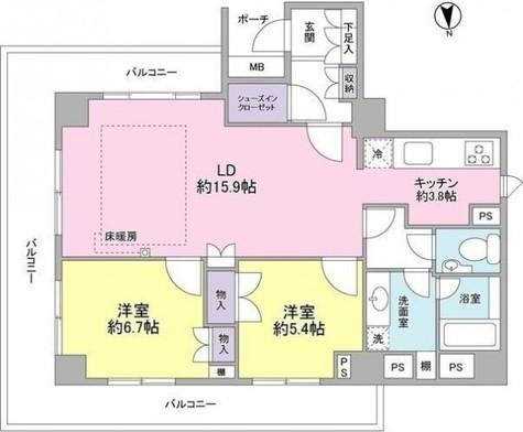 TheCenturyMiyazakidai / 4階 部屋画像1