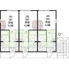 ハーミットクラブハウス石川町ⅢC棟 / 102 部屋画像1