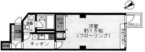 青山コーポラス / 5階 部屋画像1