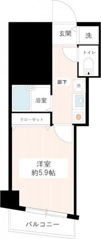 メインステージ白金高輪 / 1階 部屋画像1