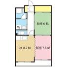 ハイツ福久良 / 202 部屋画像1