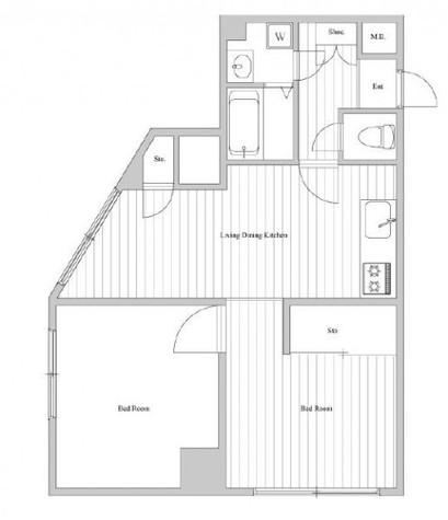 セブンスターマンション第2青葉台 / 5階 部屋画像1