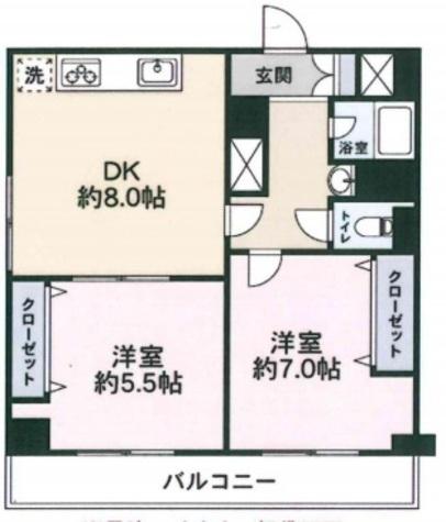渋谷藤和コープ / 8階 部屋画像1
