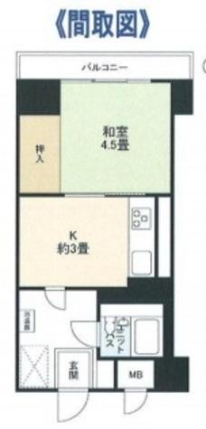 渋谷藤和コープ / 306 部屋画像1