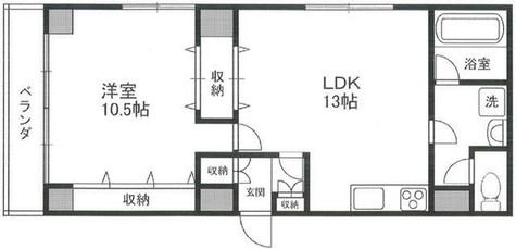 第5三和ビル / 701 部屋画像1