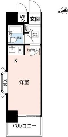 新宿御苑ダイカンプラザ / 910 部屋画像1