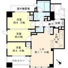 Brillia武蔵小山id(ブリリア武蔵小山id) / 601 部屋画像1