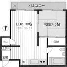 菊地マンション / 402 部屋画像1