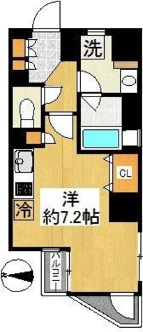 プレール・ドゥーク新宿御苑 / 8階 部屋画像1