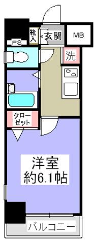 菱和パレス御茶ノ水湯島天神町 / 8階 部屋画像1