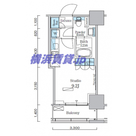 パークアクシス横濱関内スクエア / 1113 部屋画像1