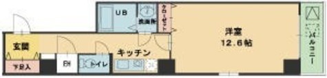 ヴィレ新宿御苑 / 6階 部屋画像1
