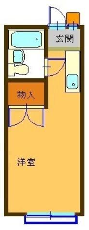 ハイツカタヤマ / 202 部屋画像1