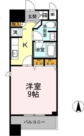 カスタリア堺筋本町 / 601 部屋画像1