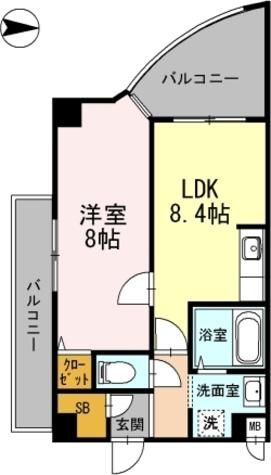カスタリア新梅田 / 408 部屋画像1