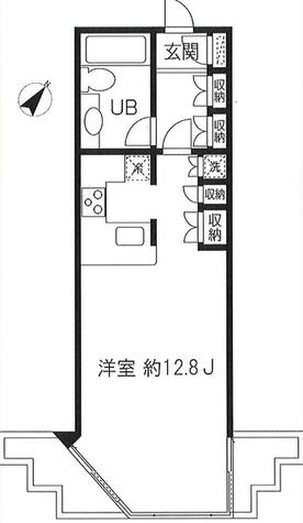 目黒イースト / 203 部屋画像1