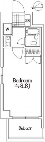 藤和シティコープ大森 / 3階 部屋画像1