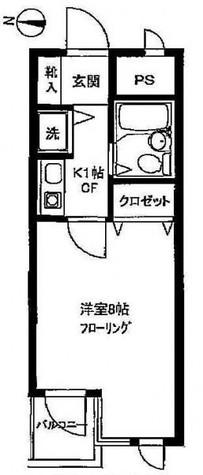 プレステージ学芸大 / 409 部屋画像1