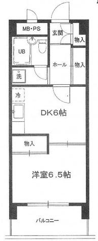 エクセル南麻布 / 4階 部屋画像1