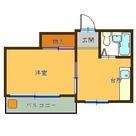 コスモステージ / 402 部屋画像1