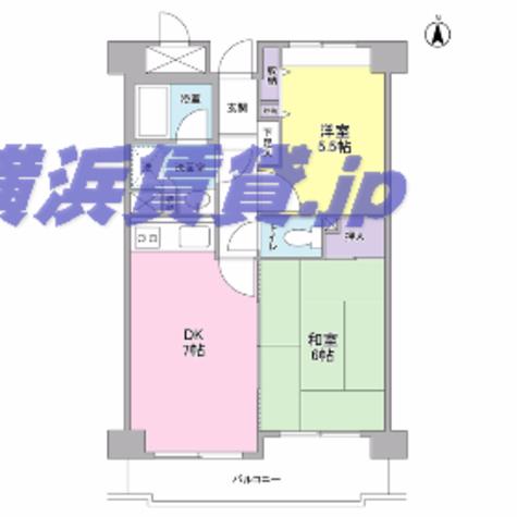 新横浜ガーデンコートAサイド・Bサイド / B103 部屋画像1